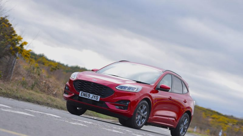 Ford présente le Ford Kuga Hybride Rechargeable