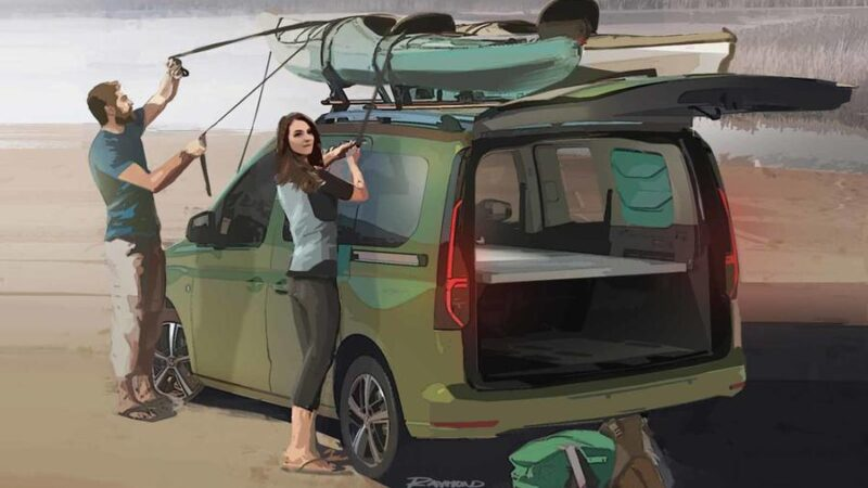 nouveau Volkswagen Caddy Beach